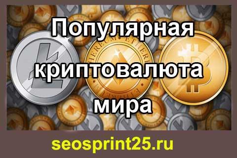 Obzor populyarnykh kriptovalyut mira