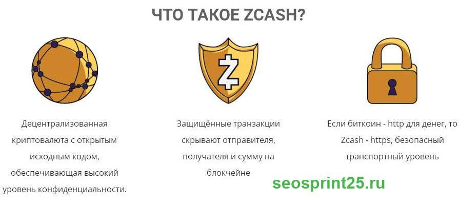 Chto takoe Zcash