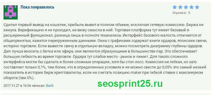 Otzyvy o binance.com